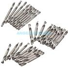 New Portable 10Pcs HSS Double Ended Spiral Drill Bits Set Kit Twist Drill Tools