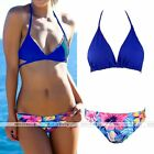 Rare Womens Beach Bandage Push up Bikini set Floral Swimwear Bathing Suit Gift