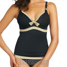 Fantasie Swimwear Malawi Plunge Tankini Top Black/Gold 5811 NEW Select Size