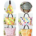 Women Portable Insulated Thermal Cooler Lunch  Carry mummy baby milk Bag Travel