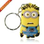 New Novelty Key Chain Keyring Keychain Cartoon Lovely Keyfob kids party gifts