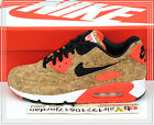 2015 Nike Wmns Air Max 90 Cork 25th Anniversary Bronze Black 726485-700 US 8