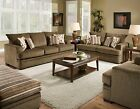American 2 PC  Set: Sofa and Loveseat