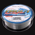 50M 4.4LB-35.2LB Fluorocarbon New Material From Japan Clear Color Fishing Line