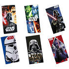 Star Wars Beach / Bath Towel Official Darth Vader StromTrooper Yoda - New + Tag