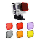 Coloured Protective Lens Cap Cover Underwater Diving Filter For GoPro Hero 3 3+