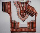 Dashiki Men Shirt African Hippie Vintage Women Top Haute Tribal Blouse One Size