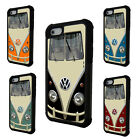 Funny Volkswagen Bus VW Pattern 2 piece phone case for Apple iPhone 5 5C 6 6plus
