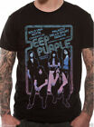 OFFICIAL Deep Purple Genova Live in Italy 1973 T Shirt Mens / Unisex Black New