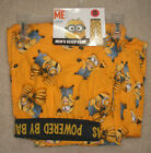 "NEW MENS ""DESPICABLE ME MINION BANANAS"" COTTON LOUNGE SLEEP PAJAMA PANT, Many Sz"