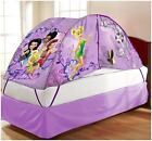 Disney and Nickelodeon Character Kids and Toddlers Bed Tent - Twin Size