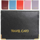 Ladies / Womens / Mens Leather Travel Card / ID / Credit Card Holder / Case