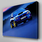 Cars307 Subaru Imperza Blue Mist Canvas Art Ready to Hang Picture Print