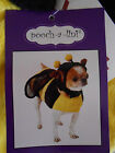 Halloween Bumble Bee Dog Costume New by Pooch a Lini