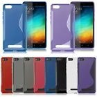 "S-Line Wave Soft TPU Gel Cover Back Snap-on Case Skin For 5.0"" Xiaomi Mi 4i M4i"