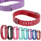 Replacement Polka Dot Wristband Band Bracelet + Clasp For Fitbit Flex Tracker