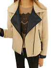 Fashion Women Double Breasted Trench Coat Outwear Winter Long Jacket Overcoat