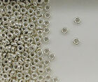 925 Sterling Silver 4mm Plain Tire Beads, Choice of Quantity & Price