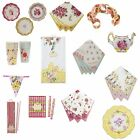 Talking Tables Truly Scrumptious Vintage Summer Tableware Cups Plates Napkins