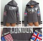 Victoria's Secret Pink London Bling Fashion Show 2014 Limited Ed. Hoodie - XS, L