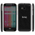 Carbon Skin Sticker For HTC One M8 M9 Cover Decal Protector Accessory Case