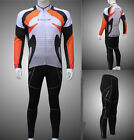 2015  Men's cycling jersey sports long sleeve velvet set clothes leisure pants
