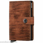SECRID Mini Wallet Genuine Leather RFID Secured Card Protector Made in Holland*