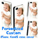 Personalised Custom Printed Funny Photo Hard Phone Case Cover for iPhone 4 5 6