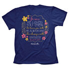 Womens Christian Jesus T-Shirt HE LOVED YOU Cherished Girl by Kerusso BRAND NEW