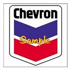 Chevron Gasoline Magnets Vinyl Stickers Decals Motor Oil Gas Globes