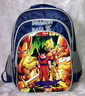 Dragonball Dragon Ball Z Logo Cosplay Super Son Goku Vegeta Backpack School Bag