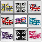 "Union Jack 100% Cotton Cushion Covers 18""x18"" or 12""x18"" Piped Edged With Zip"