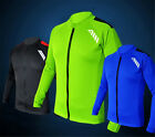 Men's Summer Cycling Bike Bicycle Jersey Long Sleeve Outdoor Sporting Coat