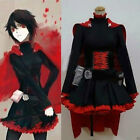 RWBY Ruby Rose Cosplay Costume Party Dress  @191
