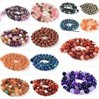 8mm gemstone shell round loose beads 16""