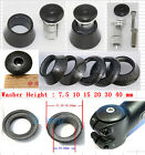 Bike Stem Spacer Washer with Top Cap Compressor key expander Plug Headset 1 set