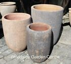 Large Old Stone Tall U Planters Plant Pots Vases Planter