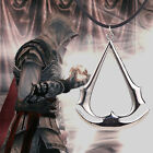 Fashion Retro Assassin's Creed Pendant Necklace Cosplay Mens Jewelry Gift 2Color
