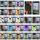 For ZTE LEver LTE   Z936L Y Stand Hard Case Soft Hybrid Camo Designs Shell