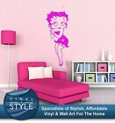 BETTY BOOP CLASSIC RETRO  DECAL DECOR STICKER WALL ART COLOURS £34.99 GBP