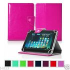 "Premium Leather Case Cover For 7"" Digiland DL718M Android Tablet GB8HW"