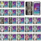 Cover for Samsung Galaxy Note 5 Hard Soft Camo Designs Colors Girly Manly