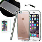 Apple iPhone 6 / 6S Case Slim Transparent Crystal Clear Hard TPU Cover  #49