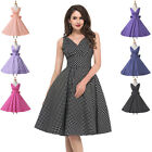 BARGAIN~ 1950's Rockabilly Vintage Swing Pinup Housewife Cocktail Retro Dresses