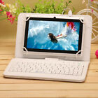 "iRULU eXpro X1 7"" HD White Quad Core Android 4.4 16GB Tablet w/ Seven Keyboard"