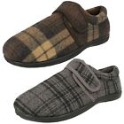 CLARKS King Strap Velcro Strap Mens Slipper