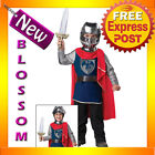 CK81 Gallant Knight Medieval Kids Toddler Boys Halloween Fancy Dress Costume