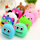 Women Girls Wallet Beauty Cartoon Animal Silicone Jelly Coin Bag Purse Kids Gift