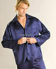 FREE Ship Men Satin Silk Pajama Set S M L XL 2XL 3XL Multi-Color Silkpeace Pants