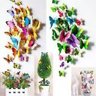 12/18pcs Butterfly Wall Stickers 3D Butterfly Wall Stickers Wedding decoration